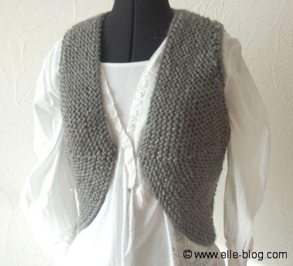 Comment tricoter gilet femme - Tuto tricot debutant gratuit ...