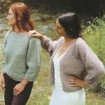 photo tricot modele tricot gratuit femme gilet 11