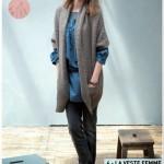 photo tricot modele tricot gratuit femme gilet 18