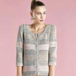 photo tricot modele tricot gratuit femme gilet 7