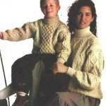 photo tricot modele tricot irlandais femme gratuit 13