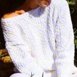 photo tricot modele tricot irlandais femme gratuit