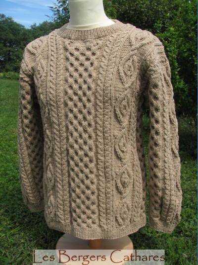 photo tricot modele tricot irlandais femme gratuit 17