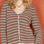 photo tricot modele tricot jersey gratuit femme 11