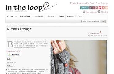 photo tricot modele tricot jersey mitaine gratuit 15