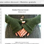 photo tricot modele tricot jersey mitaine gratuit