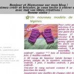 photo tricot modele tricot jersey mitaine gratuit 2