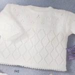 photo tricot modele tricot layette bergere de france 9