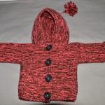photo tricot modele tricot manteau bebe 14