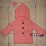 photo tricot modele tricot manteau bebe 15