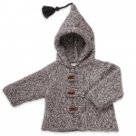 photo tricot modele tricot manteau bebe