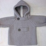 photo tricot modele tricot manteau bebe 17