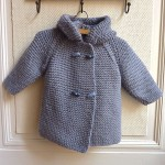 photo tricot modele tricot manteau bebe 3