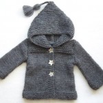 photo tricot modele tricot manteau bebe 5