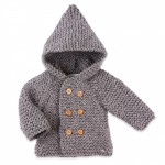 photo tricot modele tricot manteau bebe 6