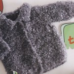 photo tricot modele tricot manteau bebe 8