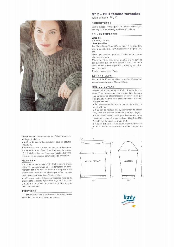 photo tricot modele tricot pour les débutants 16