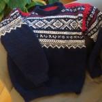 photo tricot modele tricot pull norvegien 12