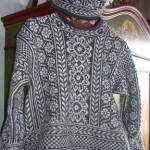 photo tricot modele tricot pull norvegien 13