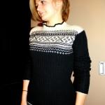photo tricot modele tricot pull norvegien 14