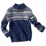 photo tricot modele tricot pull norvegien