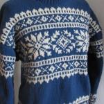 photo tricot modele tricot pull norvegien 2