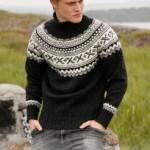 photo tricot modele tricot pull norvegien 3