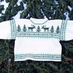 photo tricot modele tricot pull norvegien 7