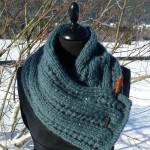 photo tricot modele tricot tour de cou femme 12