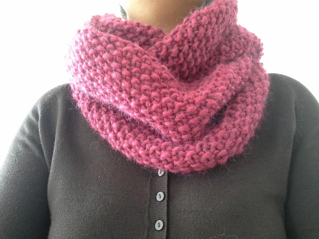 photo tricot modele tricot tour de cou femme 14 d441d6955d9