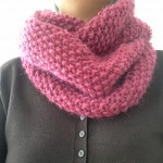 photo tricot modele tricot tour de cou femme 14