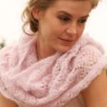 photo tricot modele tricot tour de cou femme