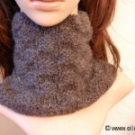 photo tricot modele tricot tour de cou femme 16