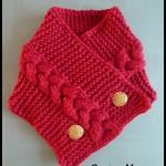 photo tricot modele tricot tour de cou femme 18