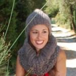 photo tricot modele tricot tour de cou femme 3