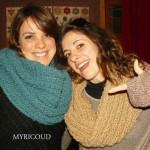photo tricot modele tricot tour de cou femme 4