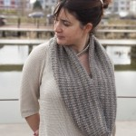 photo tricot modele tricot tour de cou femme 8