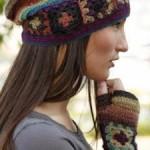 photo tricot modele tricot tour de cou femme 9