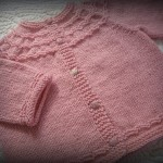 photo tricot modele tricoter layette 11