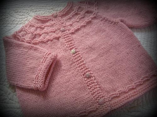 photo tricot modele tricoter layette 11
