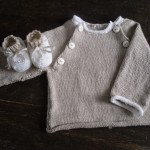 photo tricot modele tricoter layette 12