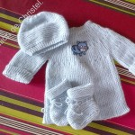 photo tricot modele tricoter layette 13