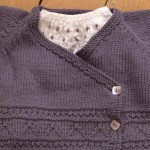 photo tricot modele tricoter layette 16