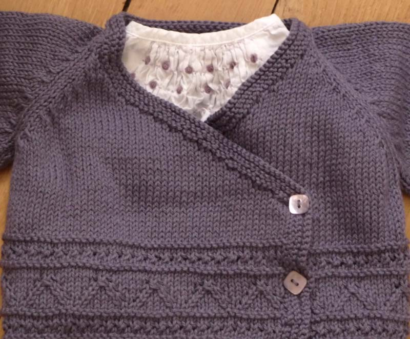 photo tricot modele tricoter layette 16