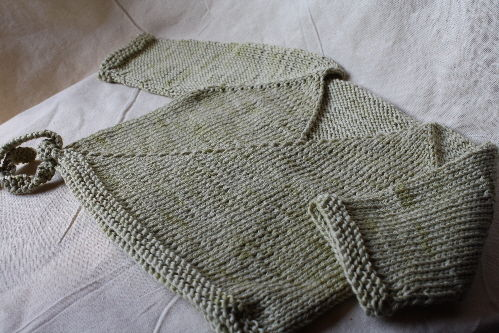 photo tricot modele tricoter layette 18
