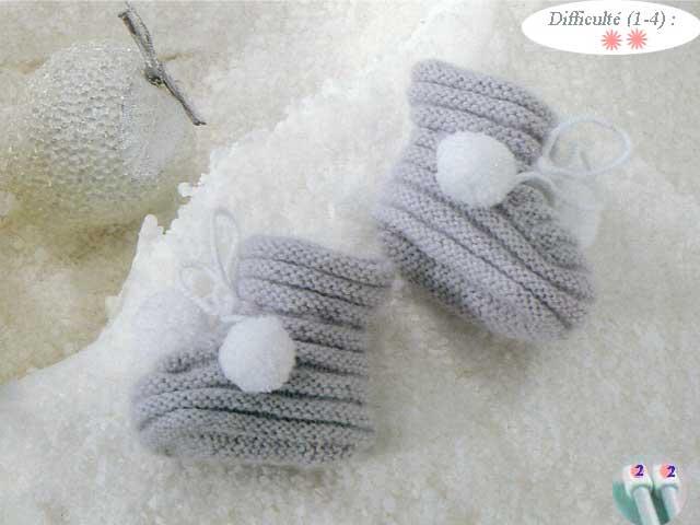 photo tricot modele tricoter layette 2
