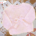 photo tricot modele tricoter layette 5