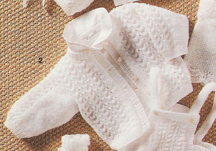 photo tricot modele tricoter layette 7