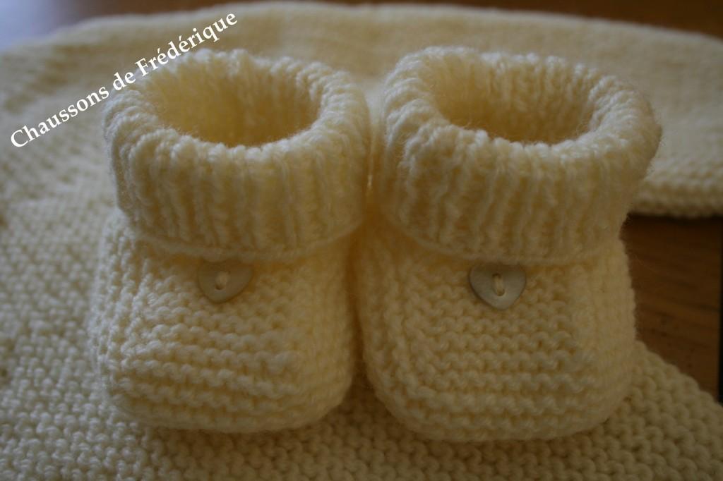 photo tricot modele tricoter layette 8