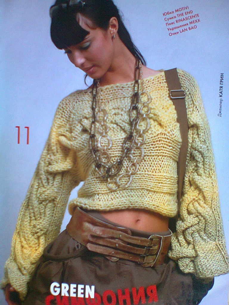 photo tricot modele tricoter pull 10